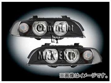 エムイーコーポレーション ZONE キセノンヘッドライト '01-ルック /4-ホワイトリングライト付 タイプ-1 品番:231885 BMW E39 ~2000年