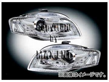 エムイーコーポレーション ZONE Bi-ハロゲンヘッドライト/LEDデーライトルック タイプ-2 品番:291015 アウディ A4 8E 2005年~2007年