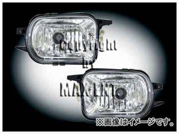 エムイーコーポレーション ZONE フォグライトセット 25Wキセノン タイプ-1 品番:230994 メルセデス・ベンツ W203 ~2004年