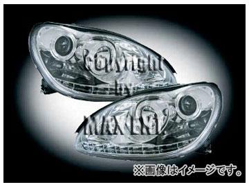 エムイーコーポレーション ZONE ツインキセノンヘッドライト '10-ルック 品番:291335 メルセデス・ベンツ W220 Sクラス ~2002年