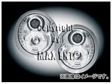 エムイーコーポレーション ZONE ツインキセノンヘッドライト LEDデーライトルック 品番:291355 ミニ R50 R#16 ~2006年