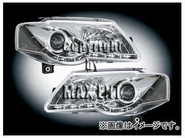 エムイーコーポレーション ZONE ハロゲンヘッドライト/LEDポジションライト付 タイプ-4 品番:291370 フォルクスワーゲン パサート 3C(B6) セダン/ワゴン
