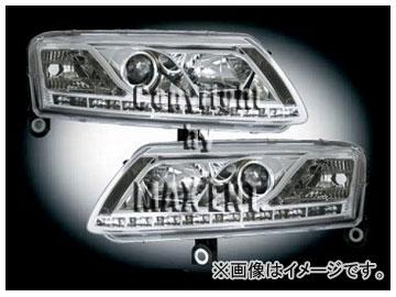 エムイーコーポレーション ZONE キセノンヘッドライト/LEDポジションライト付 タイプ-2 品番:291386 アウディ A6 C6/4F セダン/ワゴン ~2008年
