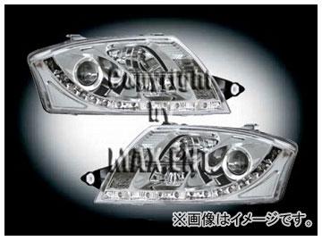 エムイーコーポレーション ZONE ハロゲンヘッドライト/LEDポジションライト付 タイプ-1 品番:291388 アウディ TT 8N