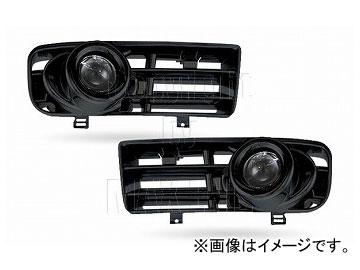 エムイーコーポレーション ZONE フォグライトセット キセノン タイプ-4 ブラック 品番:233245 フォルクスワーゲン ゴルフ4