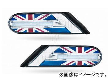 エムイーコーポレーション ZONE ユニオンジャックデザイン LEDサイドマーカー 品番:220123 ミニ R59 ロードスター