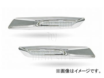 エムイーコーポレーション ZONE F-ルック 18-LEDサイドマーカー 品番:220186 BMW E91 3シリーズ ツーリング 2005年~2011年