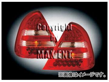 エムイーコーポレーション ZONE LEDテールレンズ レッド/クリアー/レッド タイプ-4 品番:210023 メルセデス・ベンツ W202 Cクラス セダン