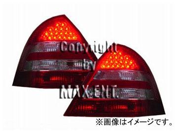 エムイーコーポレーション ZONE LEDテールレンズ レッド/クリスタルクリアー/レッド '05-ルック タイプ-3 品番:211613 メルセデス・ベンツ W203 Cクラス