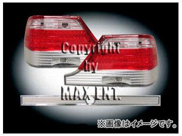 エムイーコーポレーション ZONE LEDテールレンズ クリスタルクリアー/レッド タイプ-3 品番:210088 メルセデス・ベンツ W140 Sクラス 1995年~