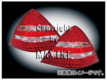エムイーコーポレーション ZONE LEDテールレンズ レッド/クリアー/レッド '01-ルック タイプ-1 品番:211646 メルセデス・ベンツ R170 SLK