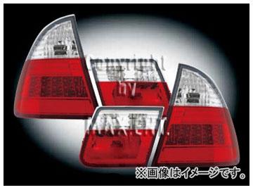 エムイーコーポレーション ZONE LEDテールレンズ セリス-ルック クリアー/レッド タイプ-3 品番:210862 BMW E46 ワゴン 1999年~2004年
