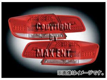 エムイーコーポレーション ZONE LEDテールレンズ レッド/クリスタルクリアー/レッド タイプ-1 品番:210896 BMW E92 3シリーズ クーペ