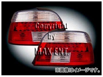エムイーコーポレーション ZONE LEDテールレンズ クリスタルクリアー/レッド タイプ-2 品番:210836 BMW E39 5シリーズ セダン 2000年~