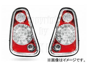 エムイーコーポレーション ZONE LEDテールレンズ クリアー/レッド タイプ-1 品番:210816 ミニ ニューミニ 2005年~2006年