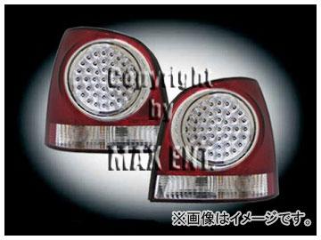 エムイーコーポレーション ZONE LEDテールレンズ ダーク レッド/クリアー タイプ-4 品番:210333 フォルクスワーゲン ポロ 9N1 ~2005年