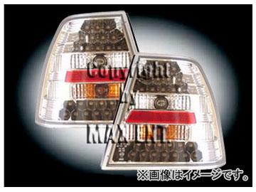 エムイーコーポレーション ZONE LEDテールレンズ クリアー/クロム タイプ4 品番:210786 フォルクスワーゲン ボーラ