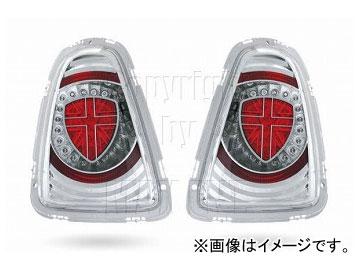 エムイーコーポレーション ZONE ユニオンジャックデザイン LEDテールレンズ Type-1 品番:211671 ミニ R56 2011年~