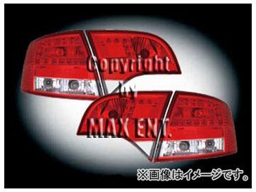 エムイーコーポレーション ZONE LEDテールレンズ レッド/クリアー/レッド タイプ-1 品番:210581 アウディ A4 8E/B7 ワゴン 2005年~