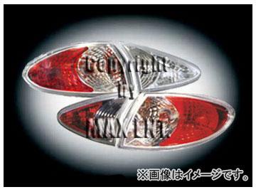 エムイーコーポレーション ZONE テールレンズ クリアー/クロム/レッド タイプ-1 品番:210526 アルファロメオ 147 ~2004年