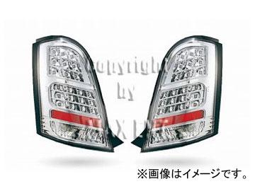 エムイーコーポレーション ZONE LEDテールレンズ クリアー/クロム タイプ-1 品番:219003 ホンダ ライフ JC1 2008年~2010年