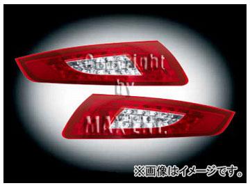 エムイーコーポレーション ZONE LEDテールレンズ '09-ルック クリアー/レッド タイプ-1 品番:210595 ポルシェ 997 ~2008年