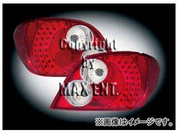 エムイーコーポレーション ZONE LEDテールレンズ レッド/クリアー タイプ-5 品番:211458 プジョー 307 3/5ドア