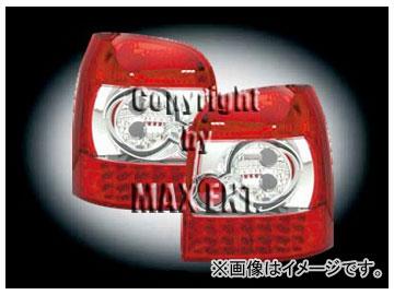 エムイーコーポレーション ZONE LEDテールレンズ レッド/クリアー/レッド タイプ-1 品番:210496 アウディ A4 8D ワゴン
