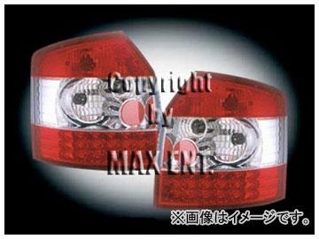 エムイーコーポレーション ZONE テールレンズ レッド/クリアー/レッド LED タイプ-1 品番:210576 アウディ A4 8E/B6 アバント ~2004年
