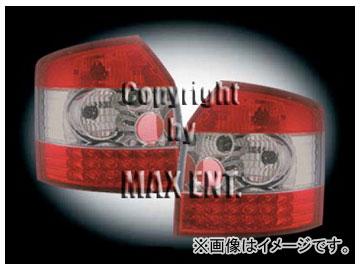 エムイーコーポレーション ZONE テールレンズ レッド/スモーク/レッド LED タイプ-1 品番:210577 アウディ A4 8E/B6 アバント ~2004年