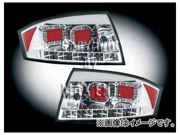 エムイーコーポレーション ZONE LEDテールレンズ 8J-ルック クリアー/クロム タイプ-1 品番:211552 アウディ TT 8N 1998年~2006年