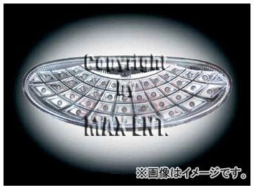 エムイーコーポレーション ZONE LEDリアフォグライト クリアー/クロム タイプ-3 品番:230267 プジョー 206