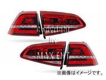 エムイーコーポレーション OE Parts VW純正 Golf7 '13- GTI-デザインLEDテール 品番:210919 フォルクスワーゲン ゴルフ7 GTI 2013年~