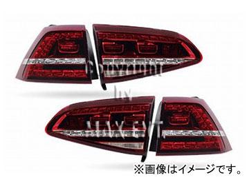 エムイーコーポレーション OE Parts VW純正 Golf7 '13- R-デザインLEDテール 品番:210920 フォルクスワーゲン ゴルフ7 GTI/R 2013年~