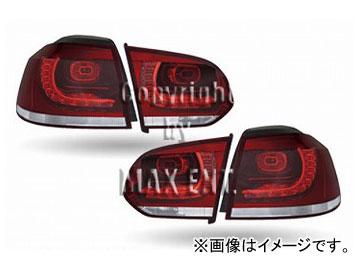 """エムイーコーポレーション OE Parts Golf6 """"R""""デザイン LEDテールレンズ+コーディングユニット Type-3 品番:210906 フォルクスワーゲン ゴルフ6 2009年~"""