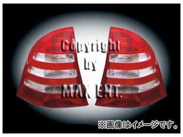 エムイーコーポレーション OE Parts テールレンズ レッド/クリスタルクリアー/レッド '05-ルック 品番:210026 メルセデス・ベンツ W203 Cクラス ワゴン