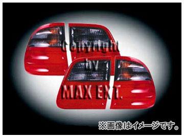 エムイーコーポレーション OE Parts テールレンズ スモーク/レッド Avantgarde-ルック 純正品質 品番:210072 メルセデス・ベンツ W210 Eクラス ワゴン