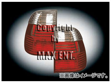 エムイーコーポレーション OE Parts LEDテールレンズ クリスタルクリアー/レッド 純正品質 品番:210856 BMW E39 5シリーズ ワゴン 2001年~
