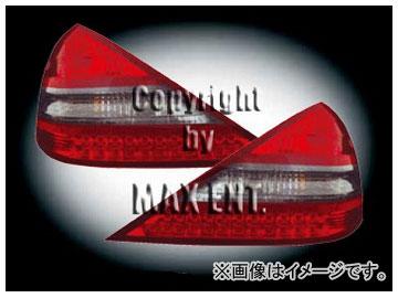 エムイーコーポレーション OE Parts LEDテールレンズ クリスタルレッド/スモーク/レッド SL65-ルック 純正品質 品番:210064 メルセデス・ベンツ R230 SL