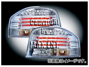 エムイーコーポレーション in.pro. LEDテールレンズ クリアー/クロム タイプ-1 品番:210465 アウディ A3 8P 3ドア ~2006年