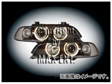 エムイーコーポレーション HELLA ハロゲンヘッドライト '01-ルック/4-ホワイトリングライト付 純正 品番:230520 BMW E39 ~2000年
