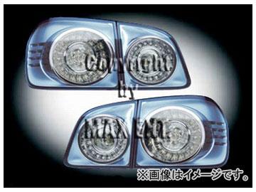 エムイーコーポレーション HELLA LEDテールレンズ クリアー/ブルー タイプ-1 品番:210745 フォルクスワーゲン ゴルフプラス