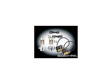 エムイーコーポレーション MAX Super Vision HID Evo.III 6000k 50W 2灯ヘッドライト用 バルブ切警告灯対策専用セット 品番:236127 ボルボ 960 ~1997年