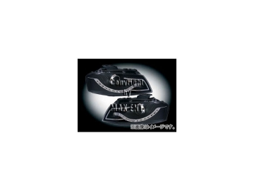 エムイーコーポレーション ZONE Bi-ハロゲンヘッドライト/LEDデーライトルック タイプ-2 品番:291304 アウディ A3 8P 2003年~2008年