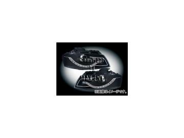 エムイーコーポレーション ZONE Bi-キセノンヘッドライト/LEDデーライトルック タイプ-2 品番:291306 アウディ A3 8P 2003年~2008年