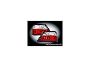 エムイーコーポレーション ZONE テールレンズ クリスタルクリアー/レッド タイプ-2 品番:210052 メルセデス・ベンツ W124 Eクラス クーペ/セダン