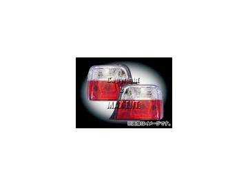 エムイーコーポレーション ZONE テールレンズ クリスタル ストライプ /レッド タイプ-1 品番:210128 BMW E36 コンパクト