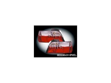 エムイーコーポレーション ZONE LEDテールレンズ クリスタルクリアー/レッド タイプ-5 品番:210126 BMW E36 クーペ/カブリオレ 4/6cyl