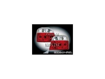エムイーコーポレーション ZONE テールレンズ クリスタルクリアー/レッド タイプ-1 品番:210127 BMW E36 ワゴン