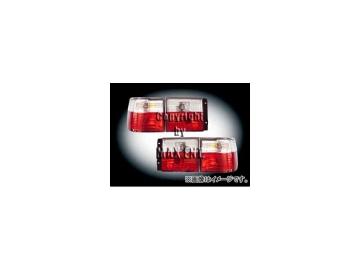 エムイーコーポレーション ZONE テールレンズ クリスタルクリアー/レッド タイプ-3 品番:210794 フォルクスワーゲン ヴェント